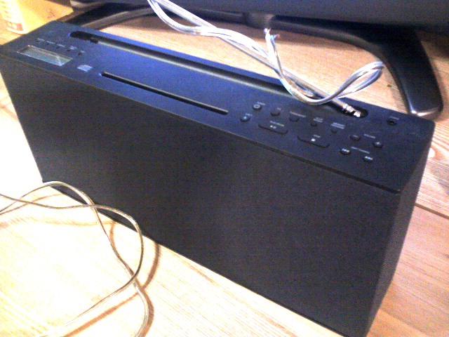 無印良品 CDラジオ · K3100021.JPG. MUJIんくんを名乗るからにはMUJIなモノを紹介します。